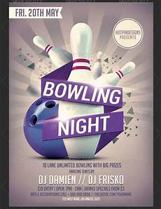 Bowling Flyer 16 Bowling Flyer Designs Printable Psd Ai Vector Eps