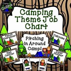Camping Jobs Camping Theme Classroom Jobs By Camp Collins Teachers