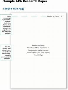 Format For Apa Research Paper Free Sample Apa Research Paper Pdf 639kb 12 Page S