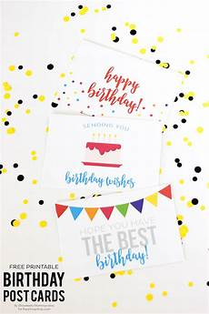 Happy Birthday Cards To Print Free Free Birthday Printables Eighteen25