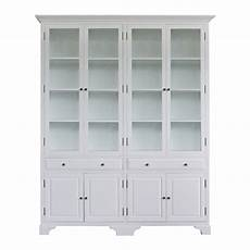 provincial classic display cabinet with tempered