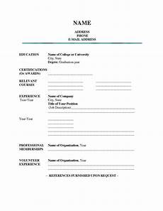 Free Student Resume Templates Blank Resume Templates For Students Resume Builderresume