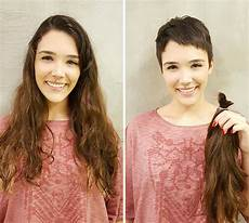 before after pics of your haircut