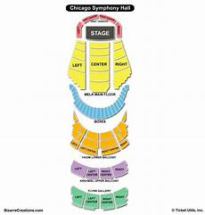 Kc Symphony Seating Chart Chicago Symphony Center Seating Chart Seating Charts
