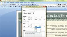 Microsoft Word Layout Templates How To Change The Default Template In Microsoft Word Youtube