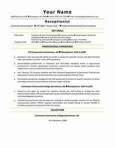 Receptionist Skills List Resumes Front Office Receptionist Desk Resume