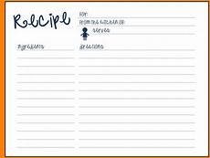 Templates For Recipes 70 Cool Recipe Cards Kittybabylove Com