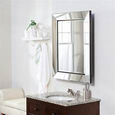 beveled mirror frame medicine cabinet wall mounted