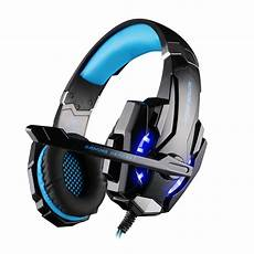 Gaming Headphones With Lights Kotion Each G9000 3 5mm Game Gaming Headphone Headset