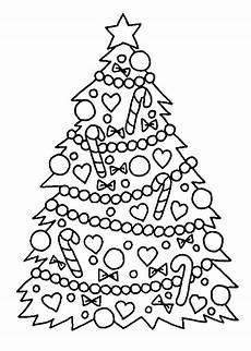 Ausmalbilder Weihnachten Tannenbaum Mit Geschenken Tree Coloring Pages For Childrens Printable For Free