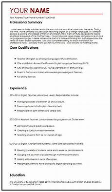 Write A Free Cv It Cv Examples Uk Free Cv Template Collection 169 Free