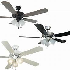Ceiling Fan Light 52 Inch Ceiling Fan With Light Kit Satin Nickel Oil