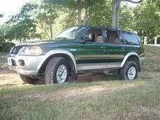 2002 Mitsubishi Montero Sport Light Bquinnnavy 2002 Mitsubishi Montero Sportxls Utility 4d