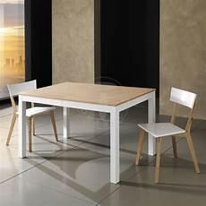 tavolo da cucina in legno tavolo moderno allungabile cucina pranzo in legno bianco e