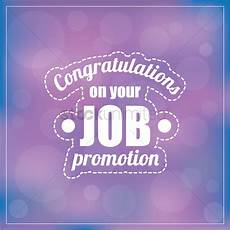 Congratulations On Promotion Congratulations On Your Job Promotion Vector Image
