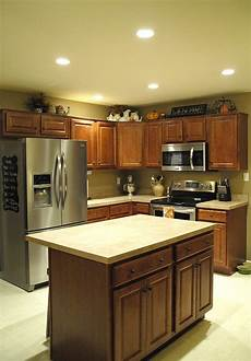 What Size Recessed Lights For Small Kitchen Recessed Lighting In Kitchen Living Room Hallways And