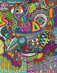 Trippy Drawings Psychedelic Drawing At Getdrawings Free Download