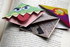 Make A Bookmarker How To Make Corner Munch Bookmarks 11 Steps With Pictures