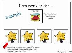 Reward Chart For Students How S My Behavior Visual Reward Charts For Students With