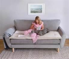 ecru wool luxury sofa topper the stylish company