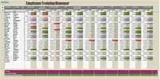 Training Tracker Excel Template Employee Training Record Excel Tracking Spreadsheet