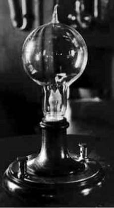 Electric Light Bulb 1879 10 Major Historical Events From 1750 1918 Timeline