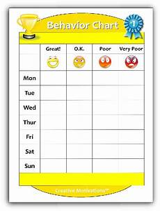 Toddler Behavior Chart Ideas Toddler Behavior Chart Image