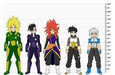 Dragon Height Chart Dragon Ball Oc S Height Chart By Wembleyaraujo On Deviantart
