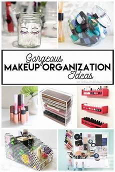 gorgeous makeup organization ideas glam