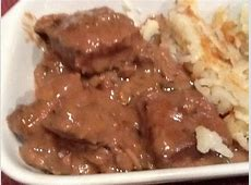 Baked Round Steak   Recipe   Baked steak recipes, Nice and