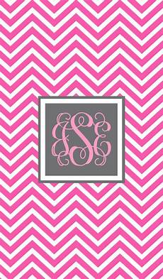 pink chevron iphone wallpaper monogramapp iphone monogrammed pink chevron