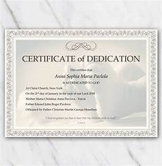 Baby Presentation Certificates Baby Dedication Certificate With Babyfeet And Frame