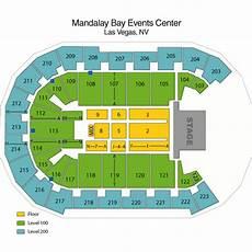 Mandalay Bay Seating Chart Mandalay Bay Events Center Las Vegas Tickets Schedule