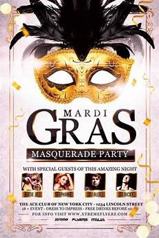 Masquerade Poster Template Carnival Masquerade Party Flyer Template Download