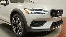 Birch Light 2020 Volvo V60 Cross Country T5 Awd In Birch Light