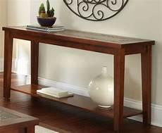 davenport medium brown sofa table from steve silver