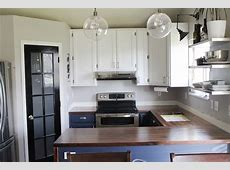 Kitchen: Makes A Beautiful Kitchen Island With Walnut Countertop ? Griffou.com