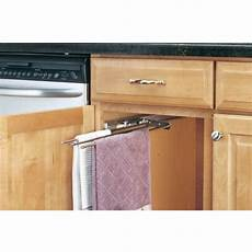 cabinetstorage kitchen cabinet 3 prong towel bar by