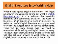 English Essay Writing Help Ppt English Essay Writing Help Online Powerpoint