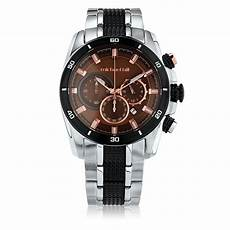 Steel By Design Watch Men S Chronograph Watch In Copper Tone Stainless Steel