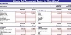 Tournament Spreadsheet Template Golf Tournament Planning Dojiggy Nonprofit Software