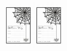 Costume Party Invitations Free Printable Free Halloween Party Invitation Printable With Glitter For