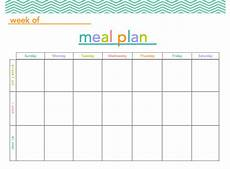 Meal Planning Template Free Free Meal Plan Printable All Things Mamma