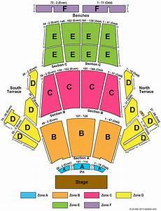 Greek Theater Chart Greek Theatre Los Angeles Ca Seating Chart