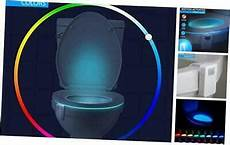Motion Detection Night Light For Your Bowl 16 Color Toilet Night Light Motion Activated Detection
