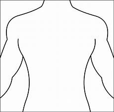 Outline Of Human Body Front And Back Silhouette Of Human Body At Getdrawings Free Download
