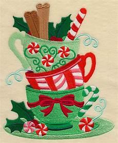 Christmas Tea Towel Embroidery Designs Machine Embroidery Designs At Embroidery Library