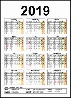 2020 Us Calendar Printable Printable Calendar 2019 United States Holidays Calendar