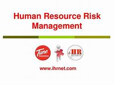 Human Resource Risk Management Hr Risk Management With Employment Practice Liability