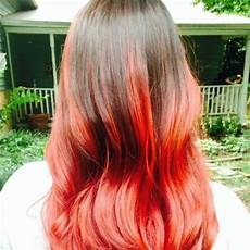 Red To Light Brown Hair Reveal Your Fiery Nature With These 50 Red Ombre Hair